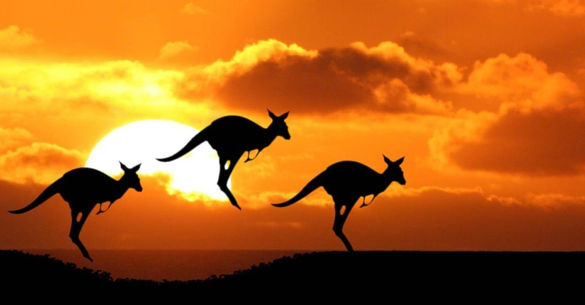 Looking Forward to Looking Up from the Down Under