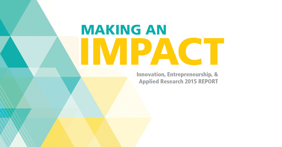 Making An Impact: Innovation at Towson University