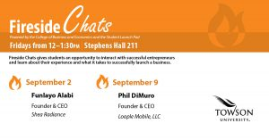 Student Launch Pad Fireside Chats