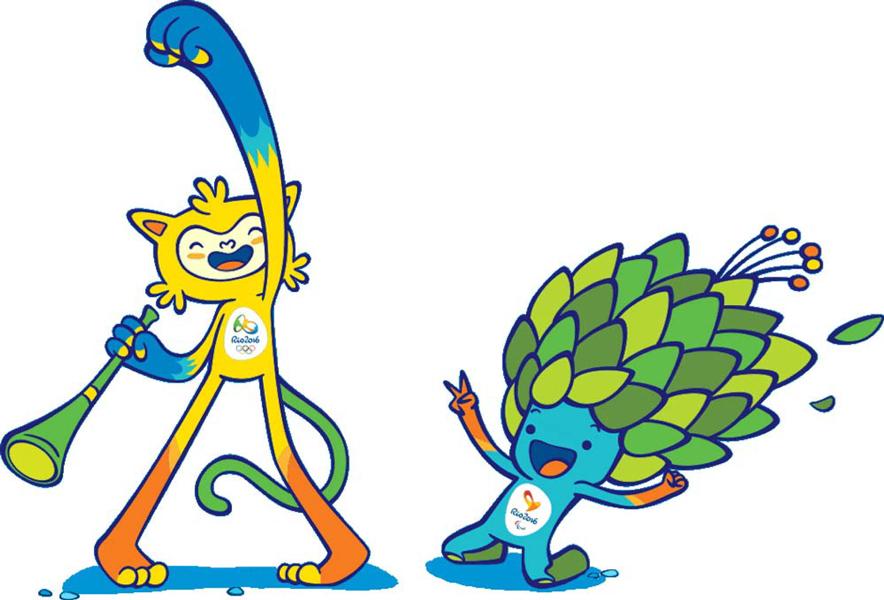 Source: www.rio2016.com/mascots