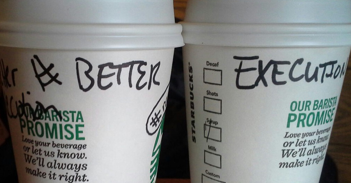 "#BetterExecution: How Starbucks ""Race Together"" Campaign Was a Good Idea with Flawed Execution"