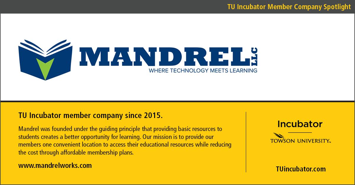 TU Incubator Member Spotlight: Mandrel