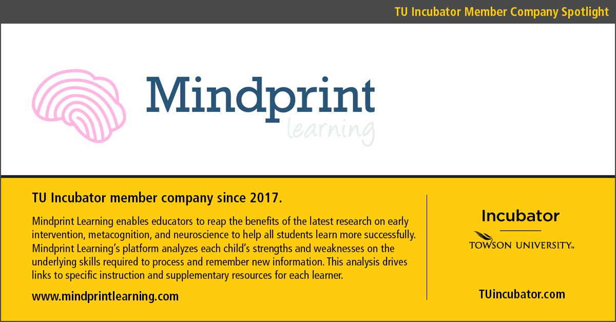 TU Incubator Member Spotlight: Mindprint Learning