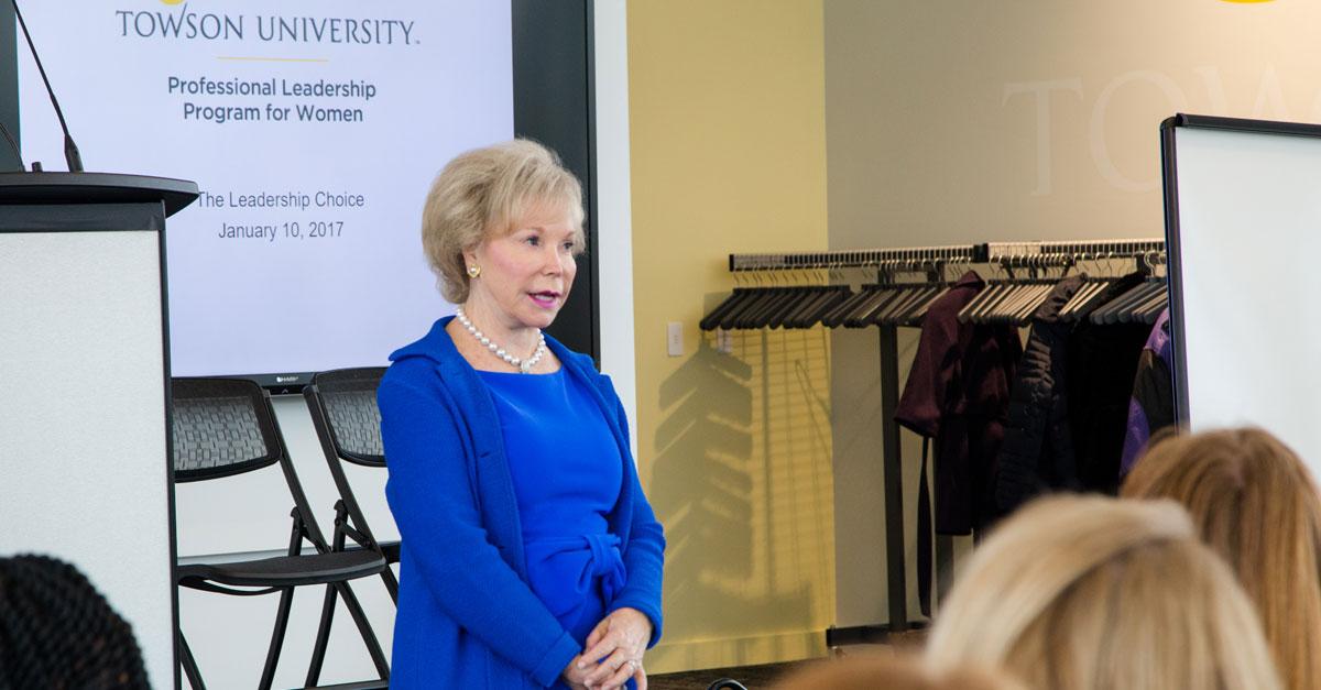 Dr. Nancy Grasmick Named Ambassador for Women's Leadership Program