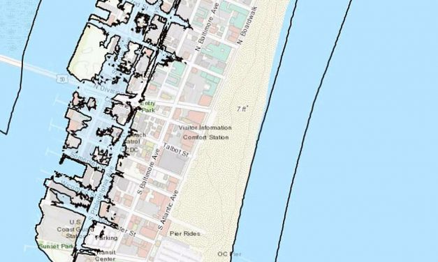 Center for GIS Developing Climate Impact Visualization Tool