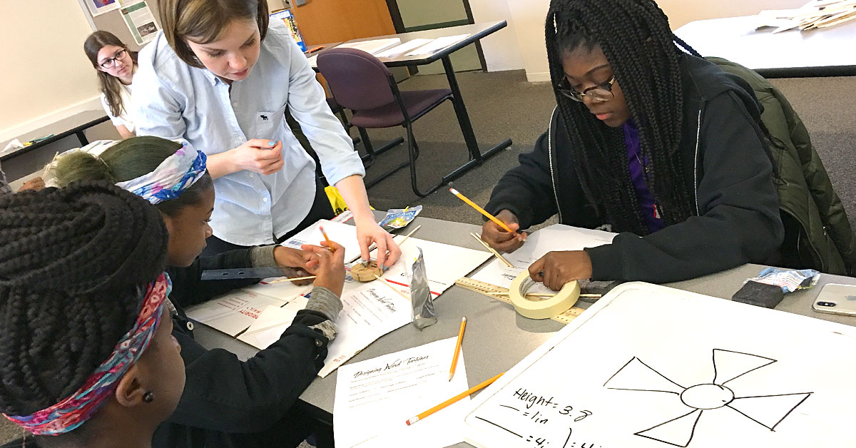 Inspiring Elementary and Middle School Students through STEM Education