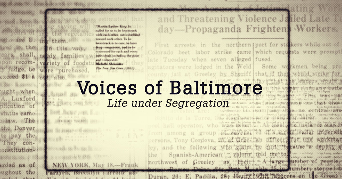 TU Educators and Filmmakers Partner with Maryland Public Television for Documentary Premiere