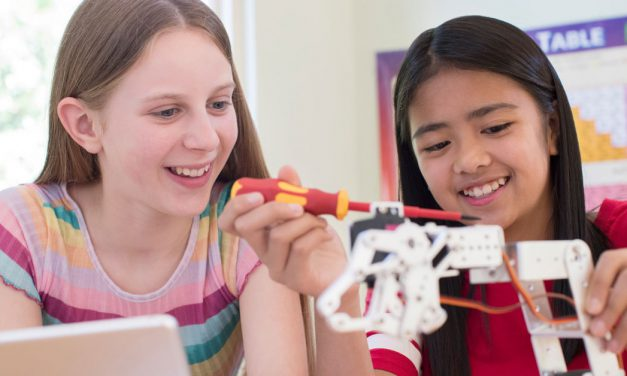 Empowering young girls to seek education and careers in STEM fields