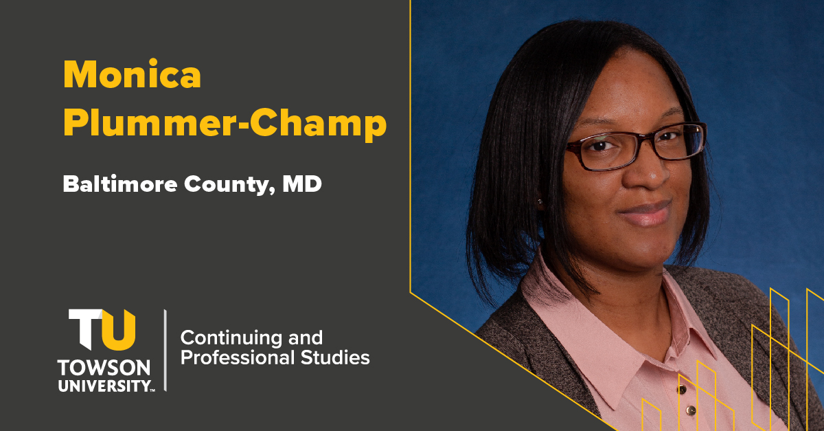Student Success Story: Monica Plummer-Champ