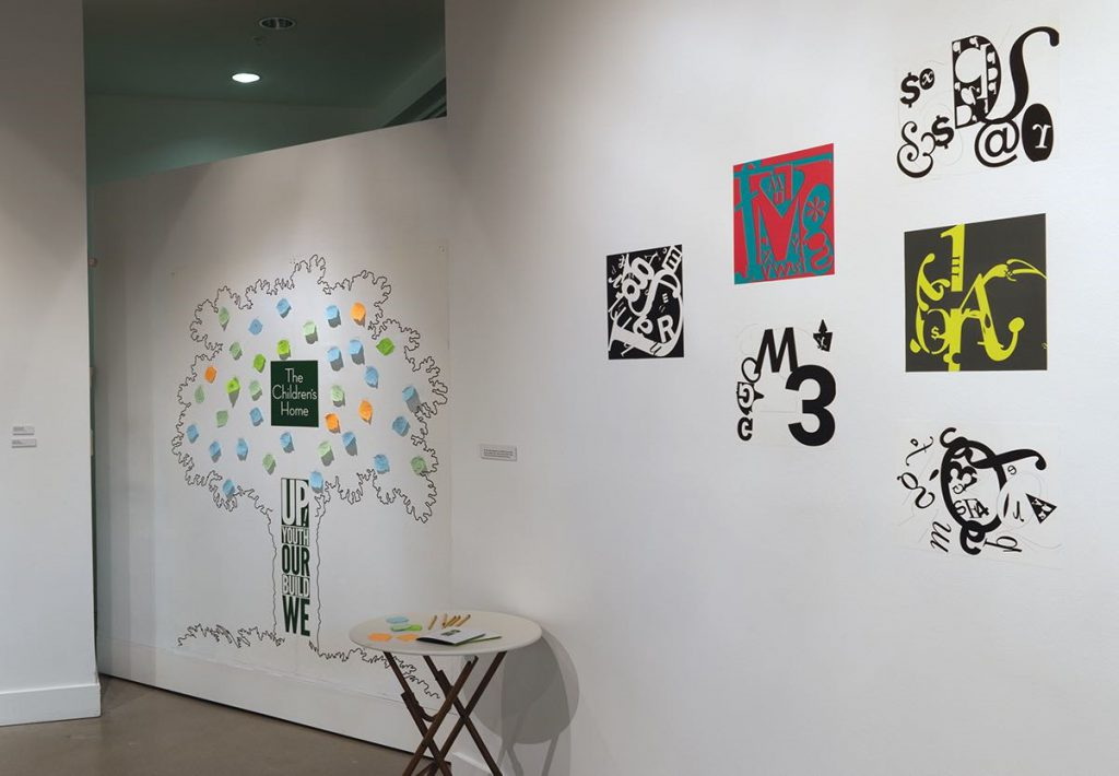 A partnership with The Children's Home allows youth who have experienced trauma to share their stories and building community through graphic design.