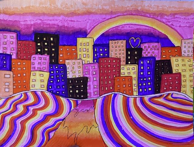 AileyCamp Baltimore coronavirus art