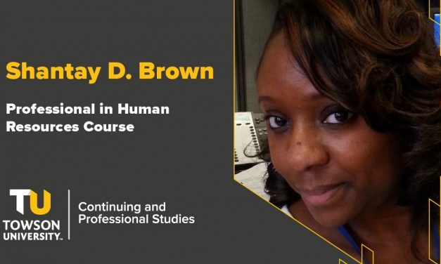 Student Success Story: Shantay Brown
