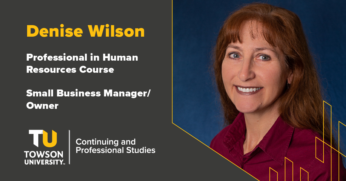 Student Success Story: Denise Wilson
