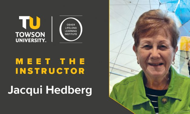 Osher Instructor Spotlight: Jacqui Hedberg