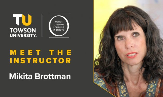 Osher Instructor Spotlight: Mikita Brottman