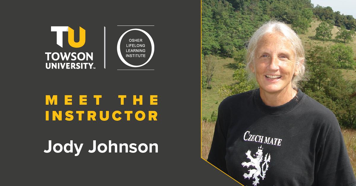 Osher Instructor Spotlight: Jody Johnson