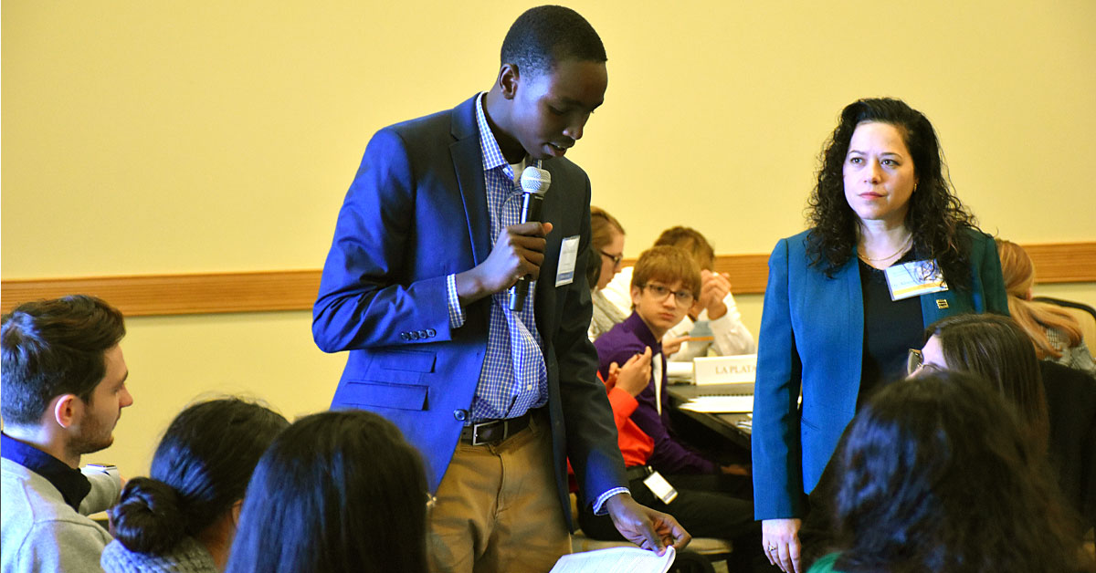 Model UN goes virtual, creating new opportunities