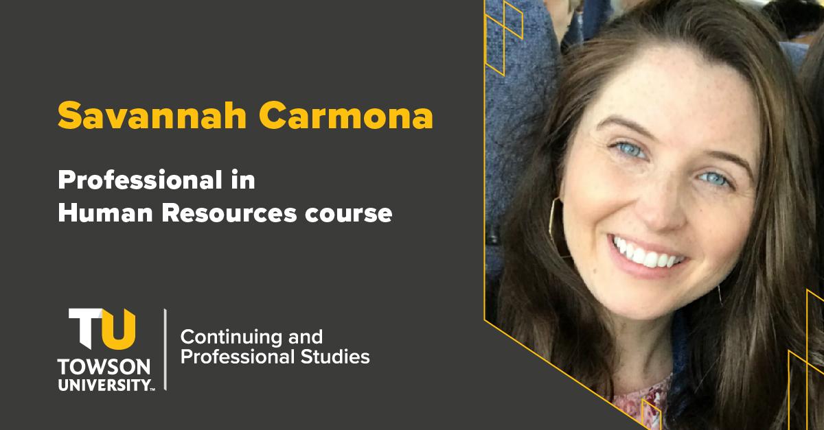 Student Success Story: Savannah Carmona