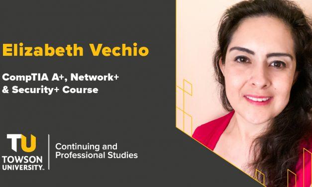 Student Success Story: Elizabeth Vechio